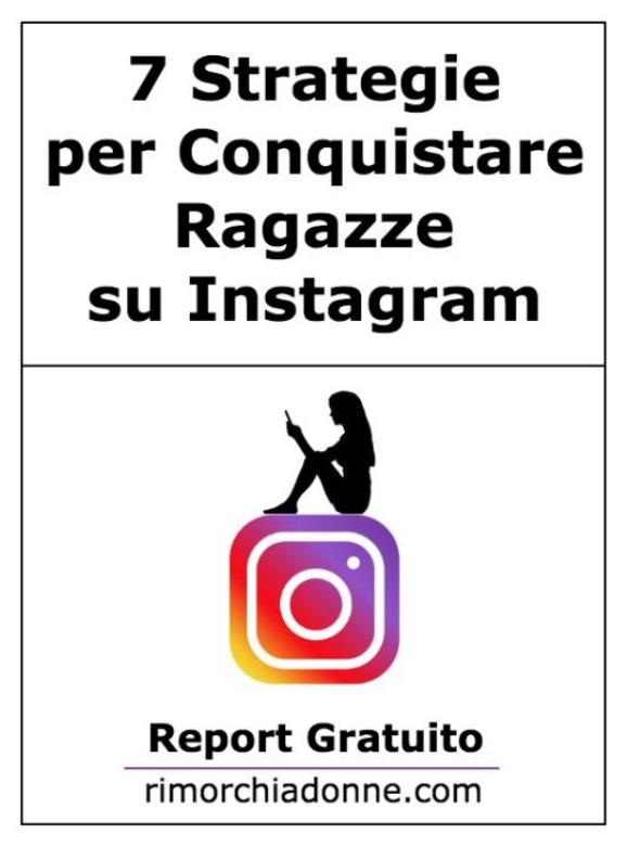 ebook gratis seduzione instagram