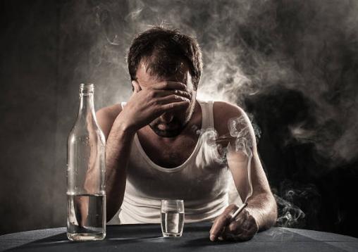 affogare i dispiacieri nell'alcol