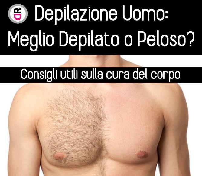 depilazione uomo:meglio depilato o peloso?